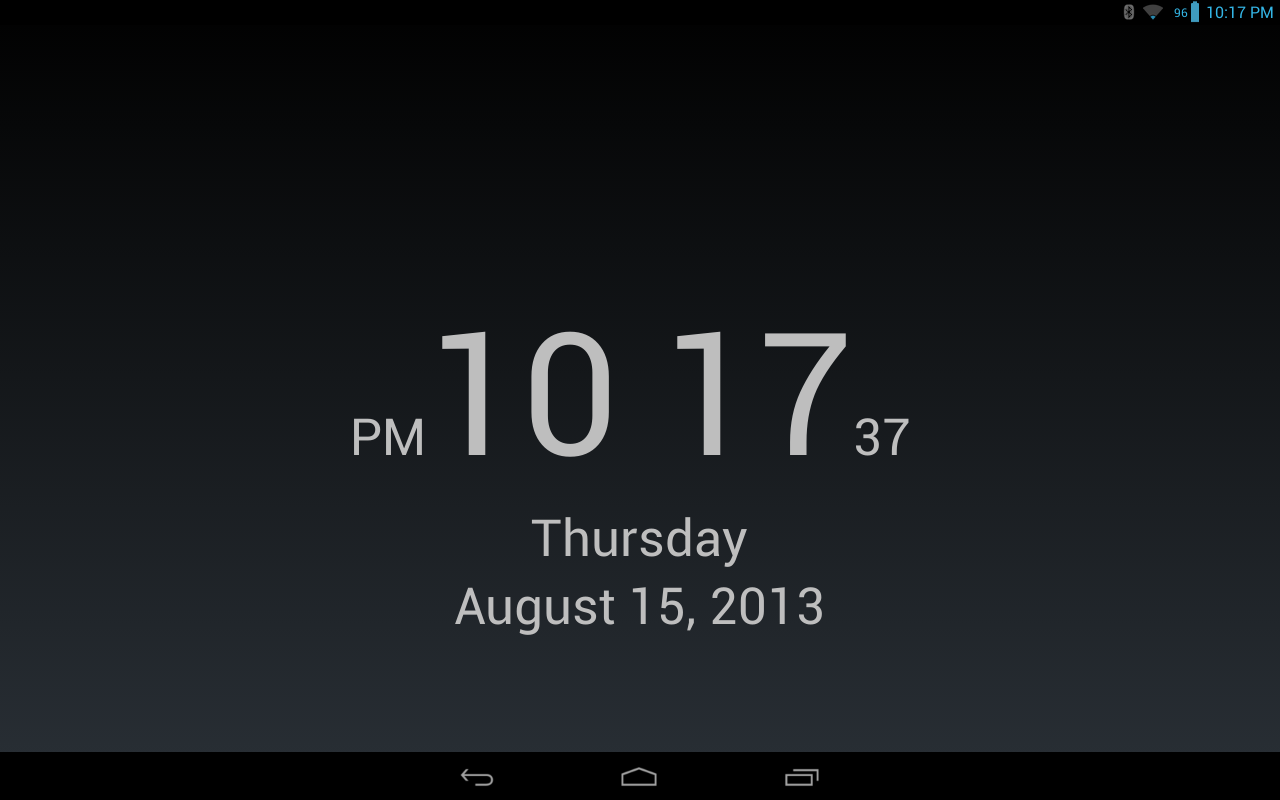 Clock for MultiWindow- screenshot