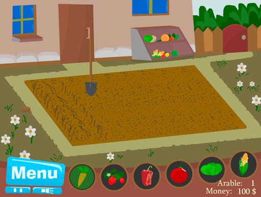 เกมส์ปลูกผักหลังบ้าน