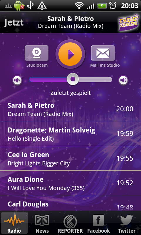 Radio Inside - screenshot