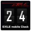 EXILE mobile Clock logo