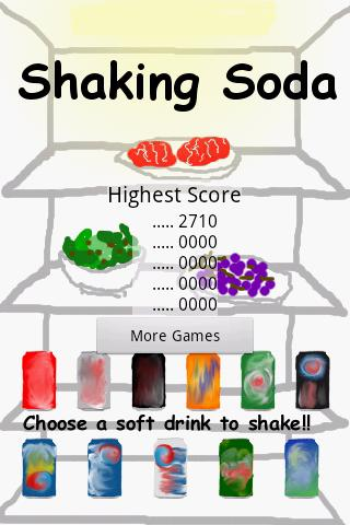 Shaking Soda - screenshot