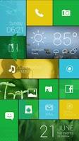 Screenshot of Color Box Live Theme (Green)
