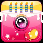 Geburtstag Fotocollage icon