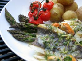 Pan-fried Brill with Mussel Sauce