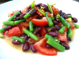 Bean Salad with Capers and Oregano