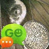 GO SMS Theme UFO Alien