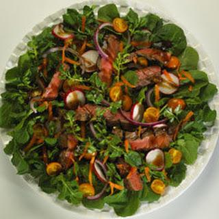 Italian Balsamic Beef Salad.