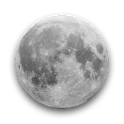 Moon 3D icon
