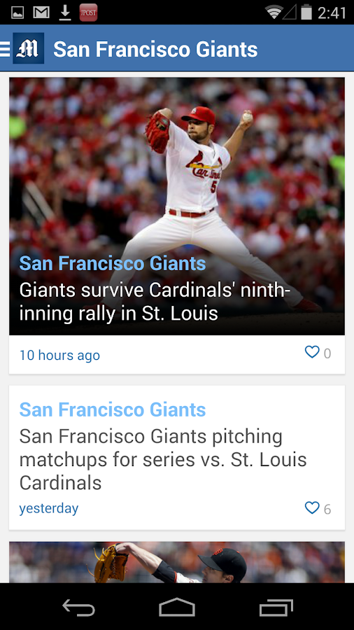 San Jose Mercury News - screenshot