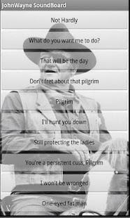 John Wayne Soundboard- screenshot thumbnail