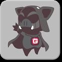 피그앤걸스 카카오톡 테마 - 피그블랙 icon