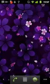Sakura Falling Live Wallpaper Screenshot 4