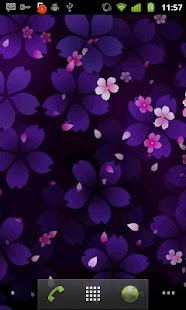 Sakura Falling Live Wallpaper - screenshot thumbnail