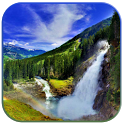 3D waterfall live wallpaper icon