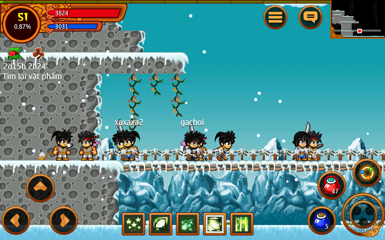 Ninja School- screenshot