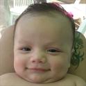Baby massage icon