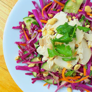 Thai Chicken Salad with Roasted Peanuts.