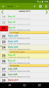 FlexR (Shift planner)- screenshot thumbnail