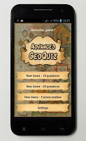 Screenshot of Advanced Geo Quiz