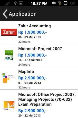 Brainmatics Cipta Informatika- screenshot
