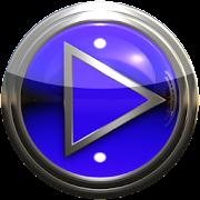 Poweramp skin blue droid icon