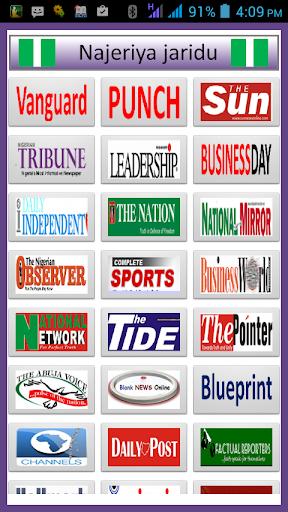Nigerian Newspapers Top News