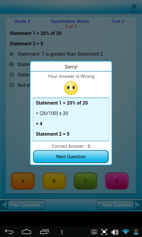 Free Grade 4 Math English 4th- screenshot