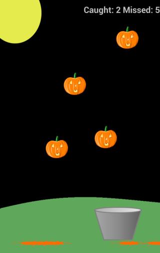 Halloween Pumpkin Catch
