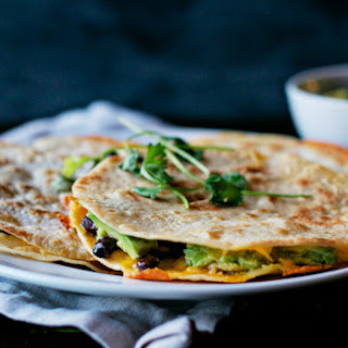 //Black Bean Quesadillas