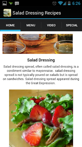 Salad Dressing Spread