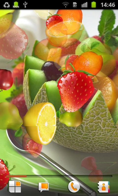Fruit Live Wallpaper - screenshot