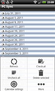 Calendar Repair Free- screenshot thumbnail