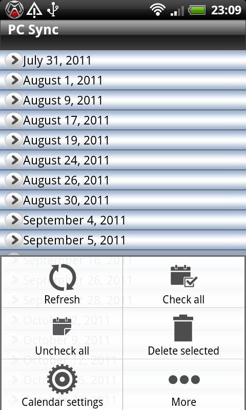 Calendar Repair Free- screenshot