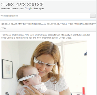 Glass App Source- screenshot thumbnail