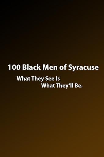 100 Black Men of Syracuse App