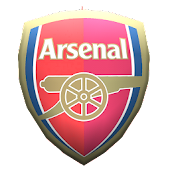 Arsenal Crest 3D Wallpaper