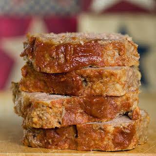 Brown Sugar Meatloaf.