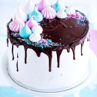 Meringue Party Cake