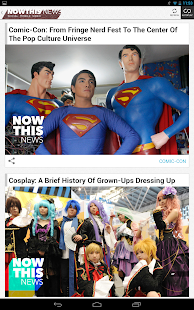 NowThis News - screenshot thumbnail