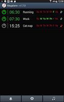 Screenshot of Music Alarm Megalarm