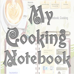 Cooking Notebook Blog Appli
