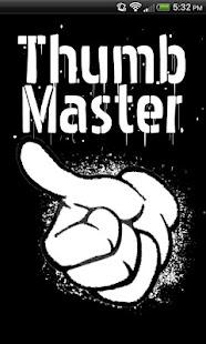 ThumbMaster drinking game