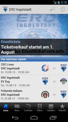 ERC Ingolstadt - screenshot