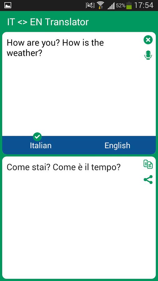 Italian Translation English To Italian: Android Apps On Google Play