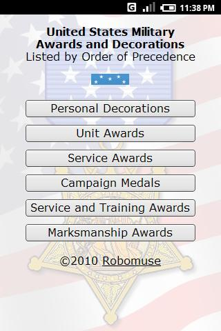 Military Ribbons - Free- screenshot