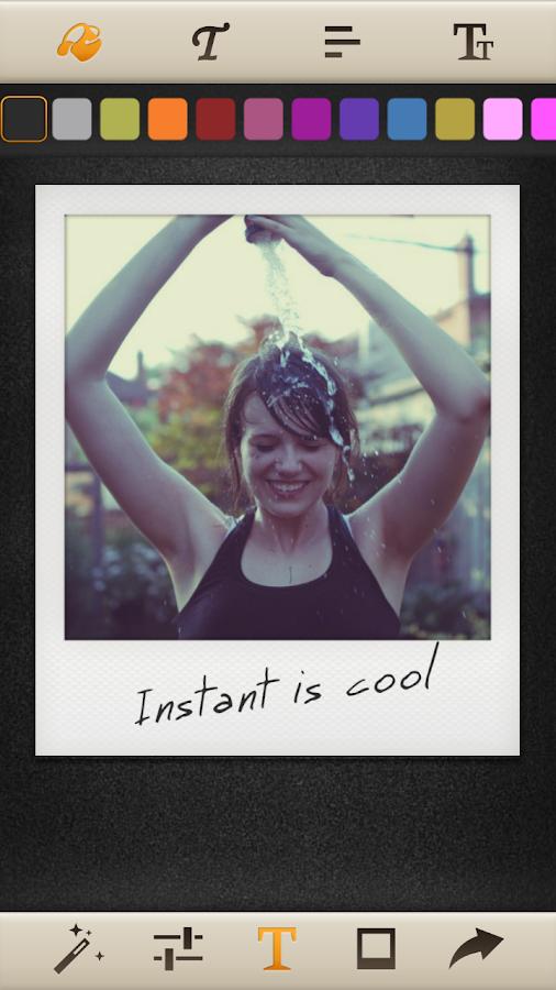 Instant: Polaroid Instant Cam - screenshot