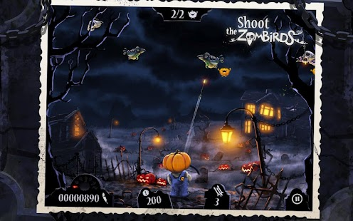Shoot The Zombirds- screenshot thumbnail