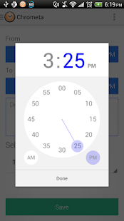 Chrometa Call & Time Tracker- screenshot thumbnail