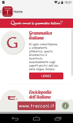 La Grammatica Italiana screenshot