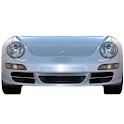 Porsche Carrera battery widget logo